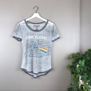 Pink Floyd Dark Side of the Moon Burnout Band Tee